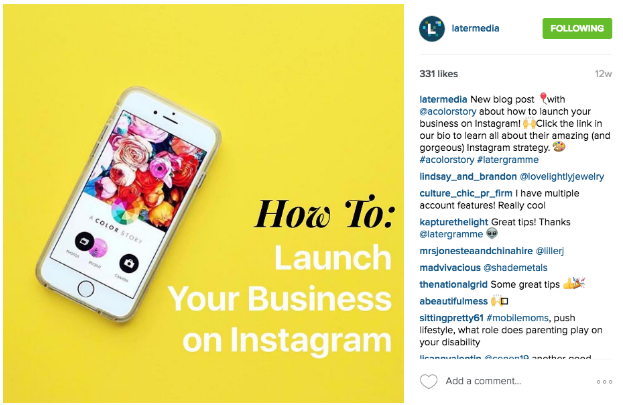 How to drive traffic from instagram using bitly bitly blog later instagram 4 ccuart Choice Image