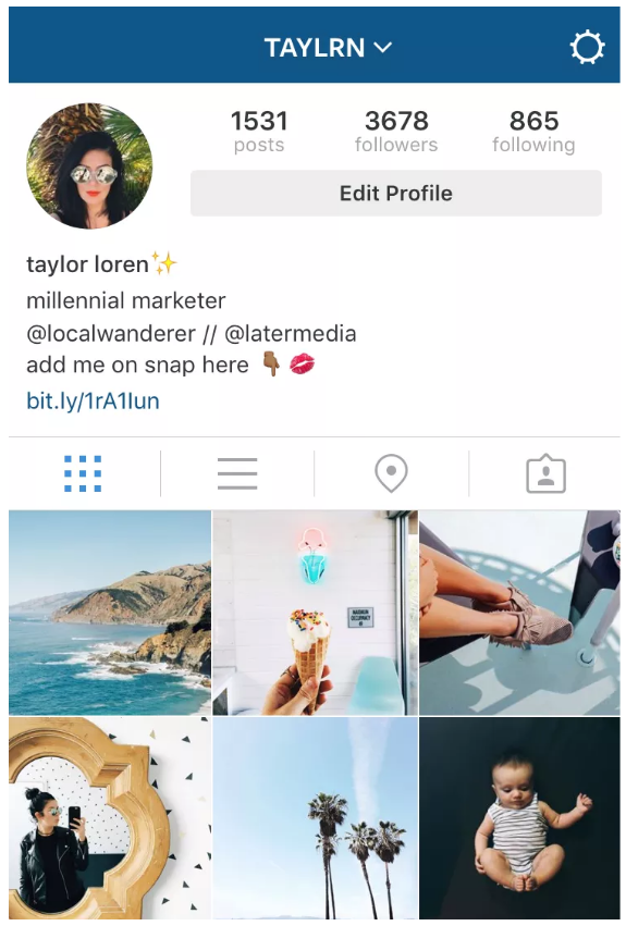 how to get spaces in instagram bio