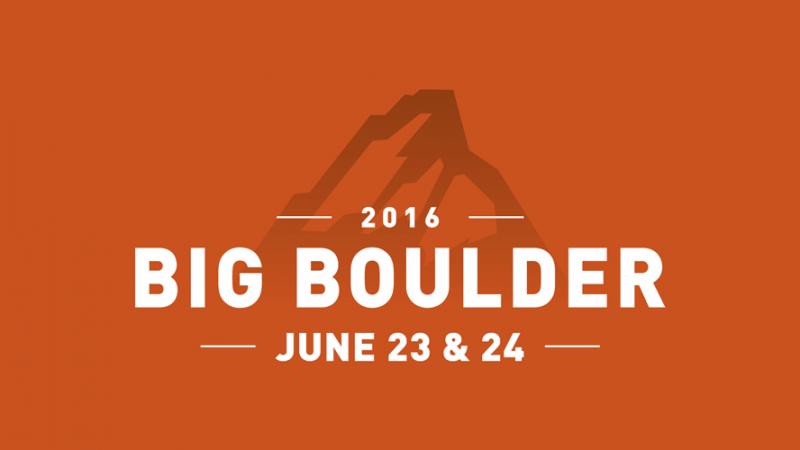 Big Boulder Conference 2016