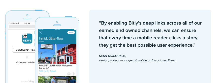 AP Mobile Bitly